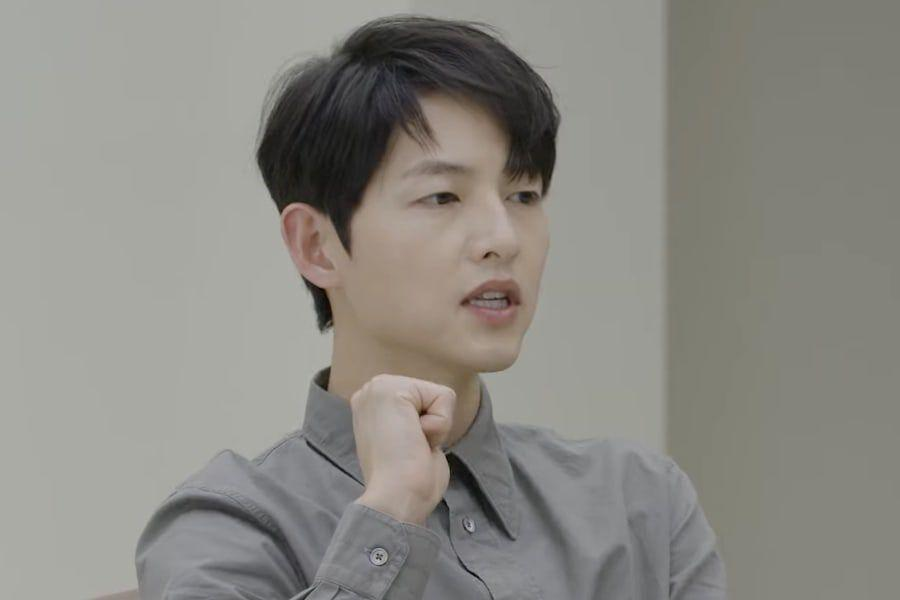 Watch: Song Joong Ki Talks About How He Got Into Acting, Learning Not To Compare Himself To Others, And More