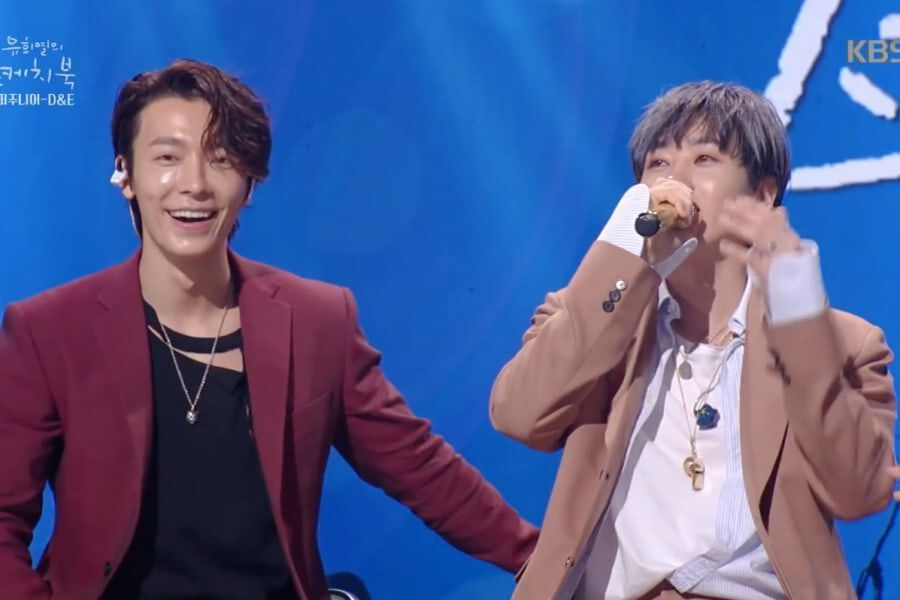 Super Junior D&E Praises Each Other And Talks About The Amusing Reason They Formed Their Unit