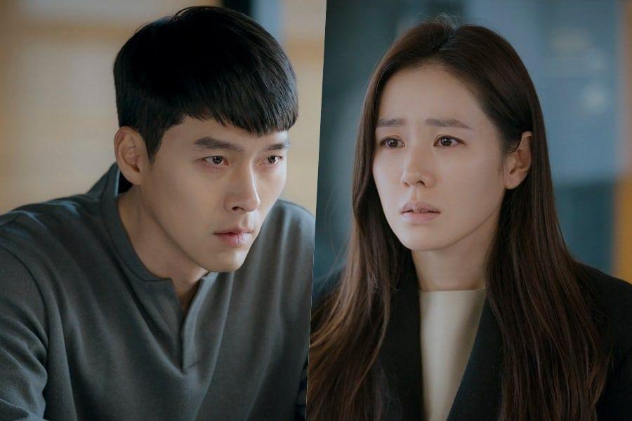 "Hyun Bin And Son Ye Jin Tear Up During A Tense Meeting On ""Crash Landing On You"""
