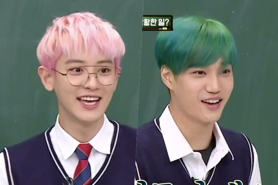 Exo S Chanyeol Kai Reveal Which Exo Members Their Moms Are Fans