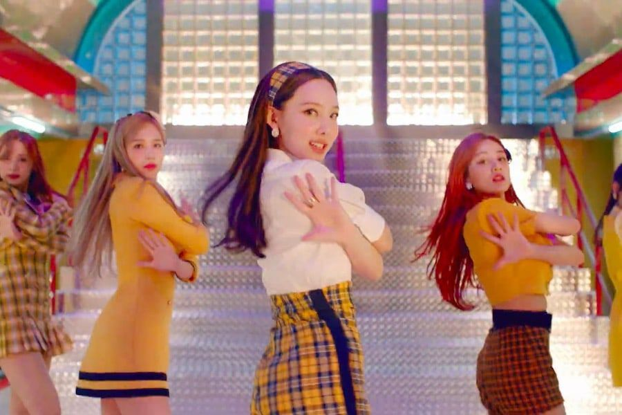 "Update: TWICE Gives A Glimpse Of Their Performance In Fun ""I CAN'T STOP ME"" MV Teaser"