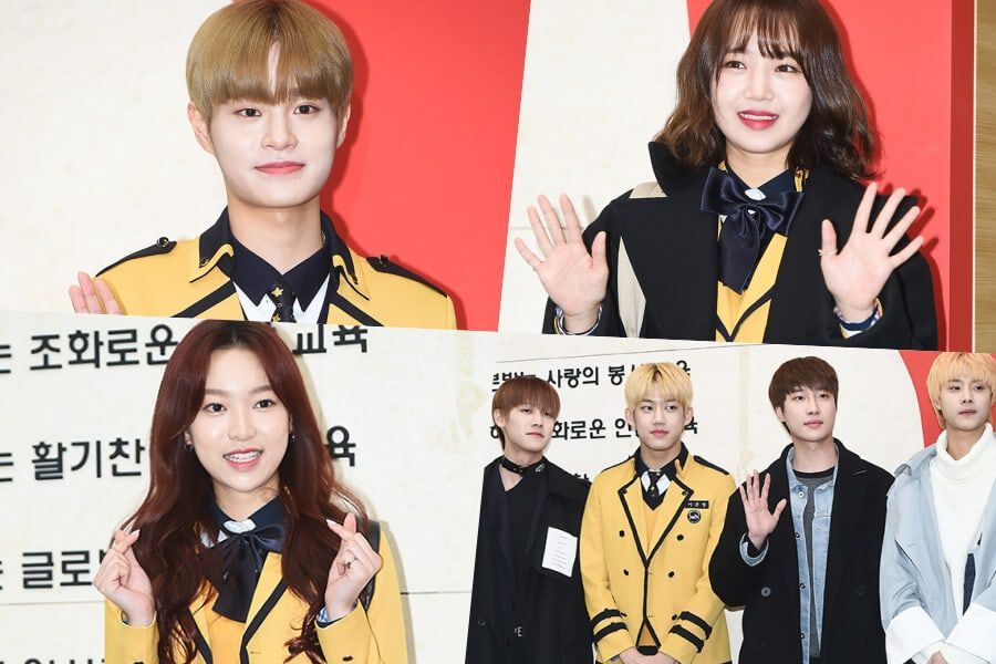 Idols Attend Their Graduation For School Of Performing Arts Seoul Soompi