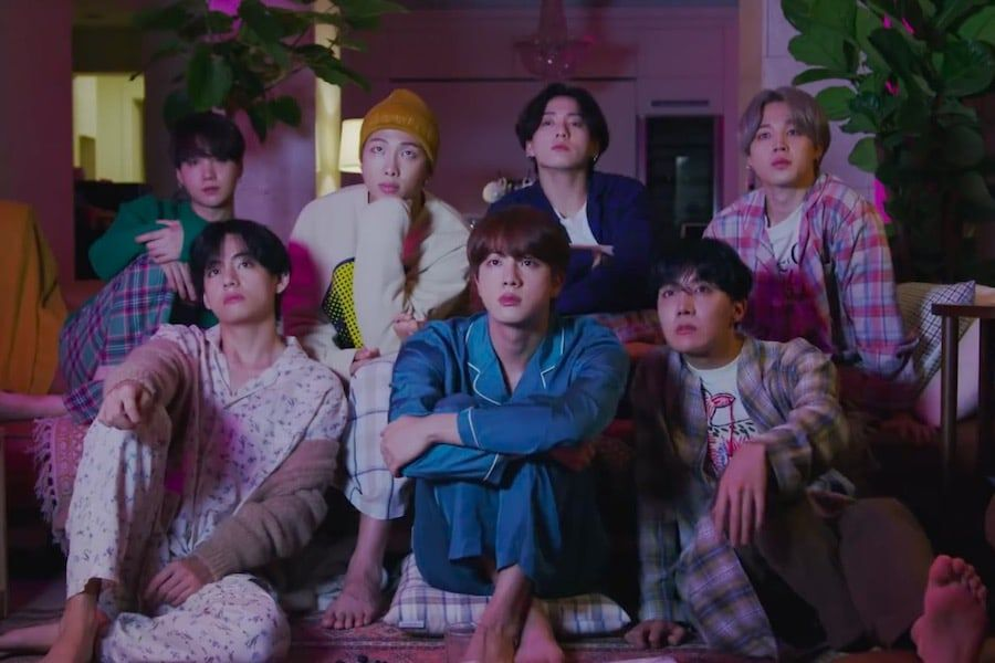 "Watch: BTS Is Cozy Together In 1st Teaser Video For ""Life Goes On"" MV 