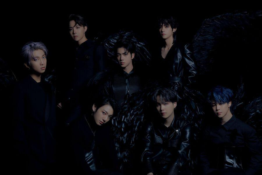 "BTS Transforms Into Black Swans For ""Map Of The Soul: 7"" Concept Photos"