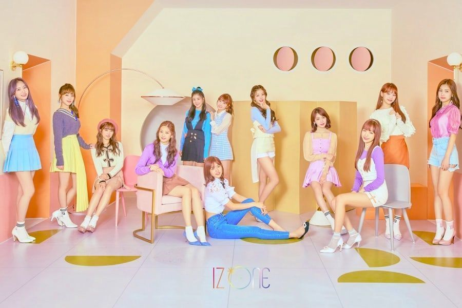 IZ*ONE confirma su fecha de debut japonés