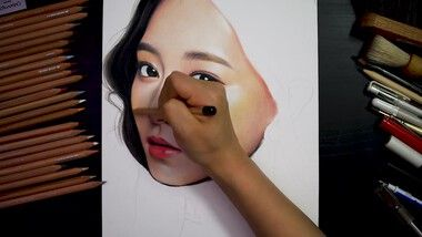 Drawing Hands Episode 115: Drawing Twice-Tzuyu [Drawing Hands]