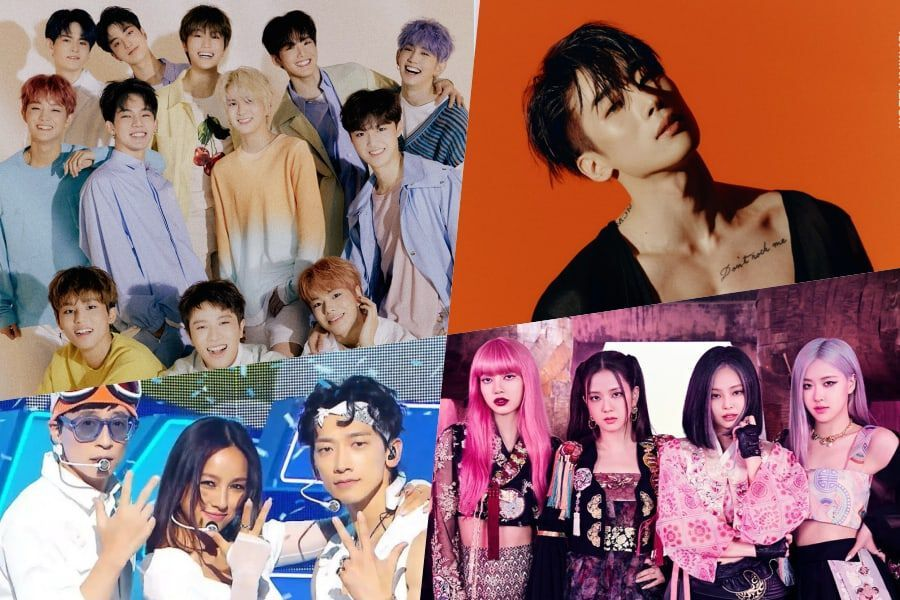 TREASURE, SSAK3, VICTON's Han Seung Woo, And BLACKPINK Top Gaon Weekly Charts