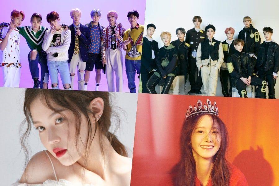 BTS, NCT 127 y más continúan en altas posiciones en la lista de álbumes mundiales de Billboard + Los nuevos lanzamientos de Lee Hi y YoonA hacen su debut