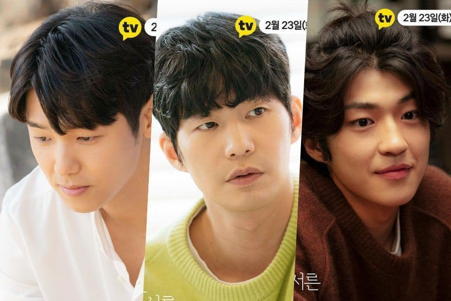 "CNBLUE's Kang Min Hyuk, Song Jae Rim, And Baek Sung Chul Have Very Different Approaches To Romance In ""How To Be Thirty"""