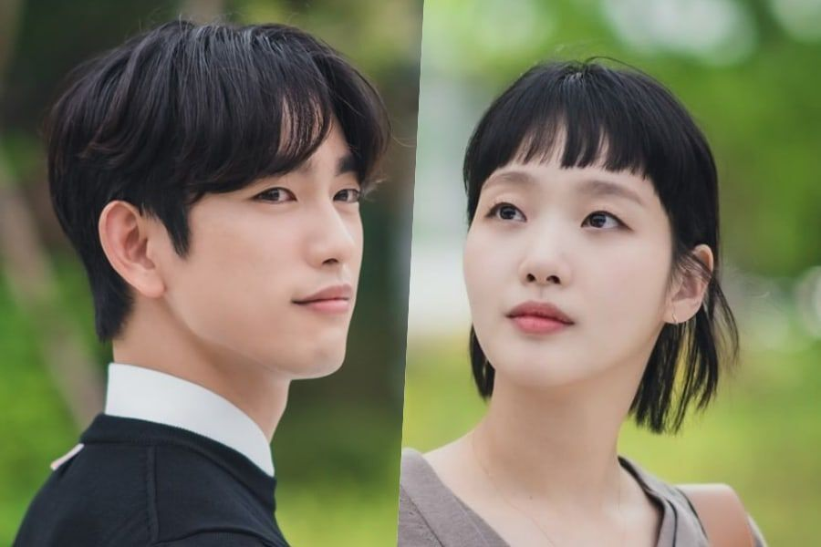 """GOT7's Jinyoung Makes His 1st Appearance As Potential New Love Interest For Kim Go Eun In """"Yumi's Cells"""""""