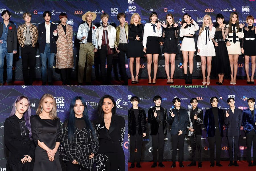 Urmărește: Stars Stun On Carpet Roșu la 2019 Mnet Asian Music Awards