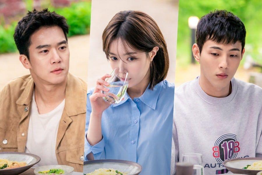 """Ha Seok Jin, Im Soo Hyang, And Ji Soo Have An Awkward Meal Together In """"When I Was The Most Beautiful"""""""