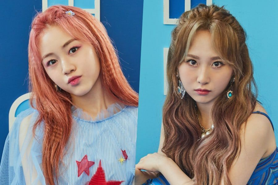 """Update: Rocket Punch's Dahyun And Juri Star In """"Blue Punch"""" Comeback Teasers"""