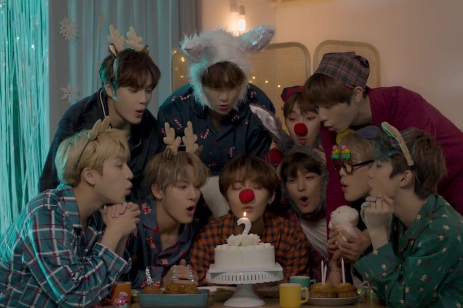 Update The Boyz Celebrates The Holidays And 2nd Anniversary With Remake Of Fin K L S White Soompi
