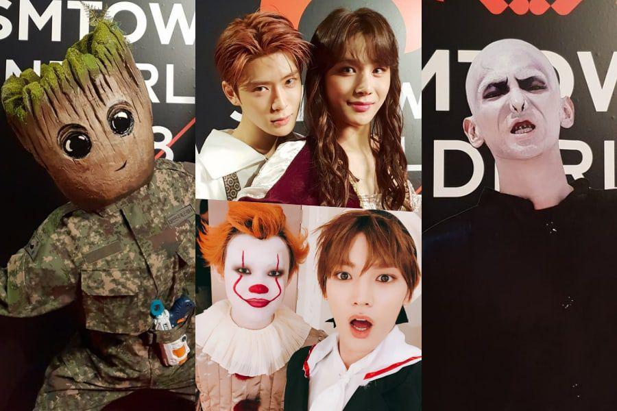 The Best Of Twitter's Reactions To SMTOWN's Legendary Halloween