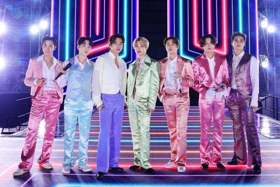 BTS obtiene 2 victorias en los 2020 American Music Awards
