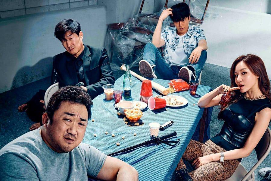 "Bad Guys: The Movie"" Unveils Gritty Posters Of Jang Ki Yong, Ma Dong Seok, And More 
