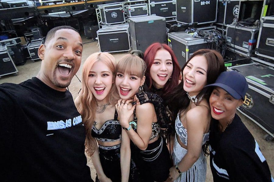 Will Smith Says He And Jada Are Officially BLACKPINK Fans