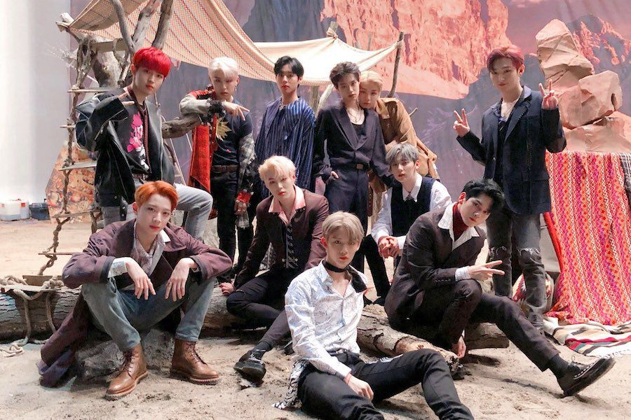 """Wanna One Tops All Major Realtime Charts With """"Spring Breeze"""""""