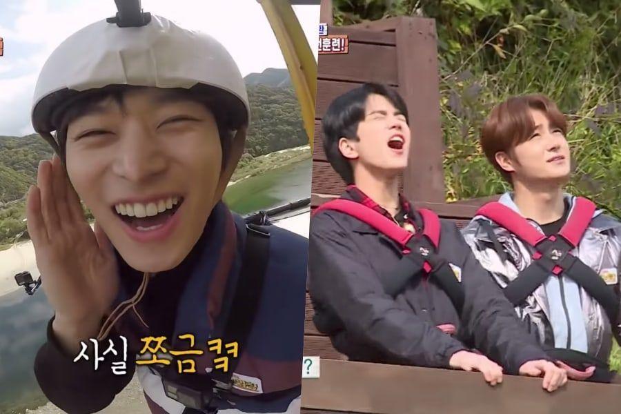 """Картинки по запросу 2- THE BOYZ's JuYeon/ """"Law of the Jungle"""