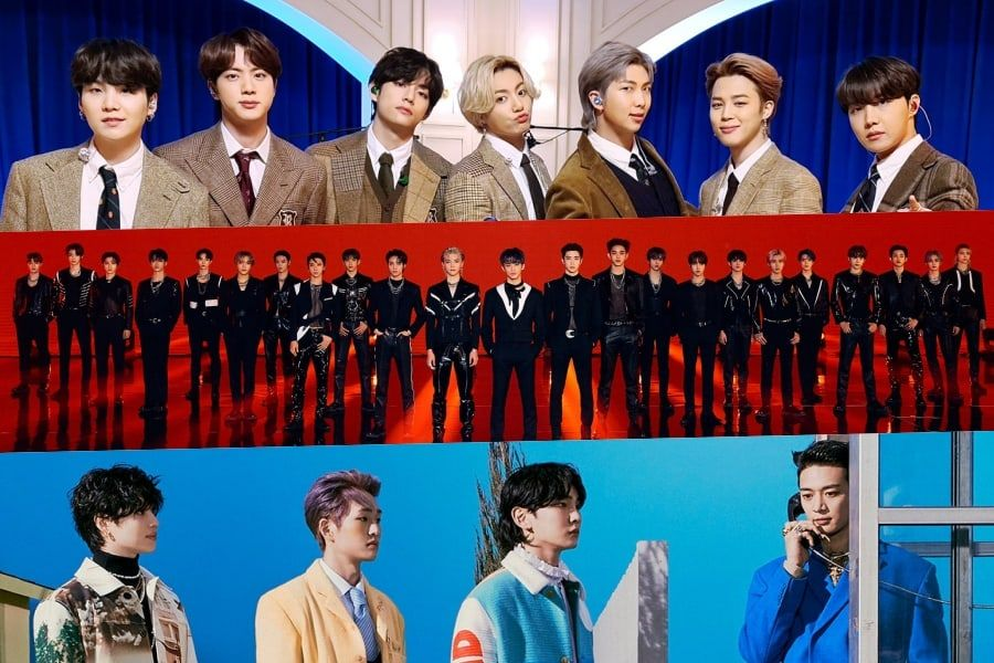 March Boy Group Brand Reputation Rankings Announced