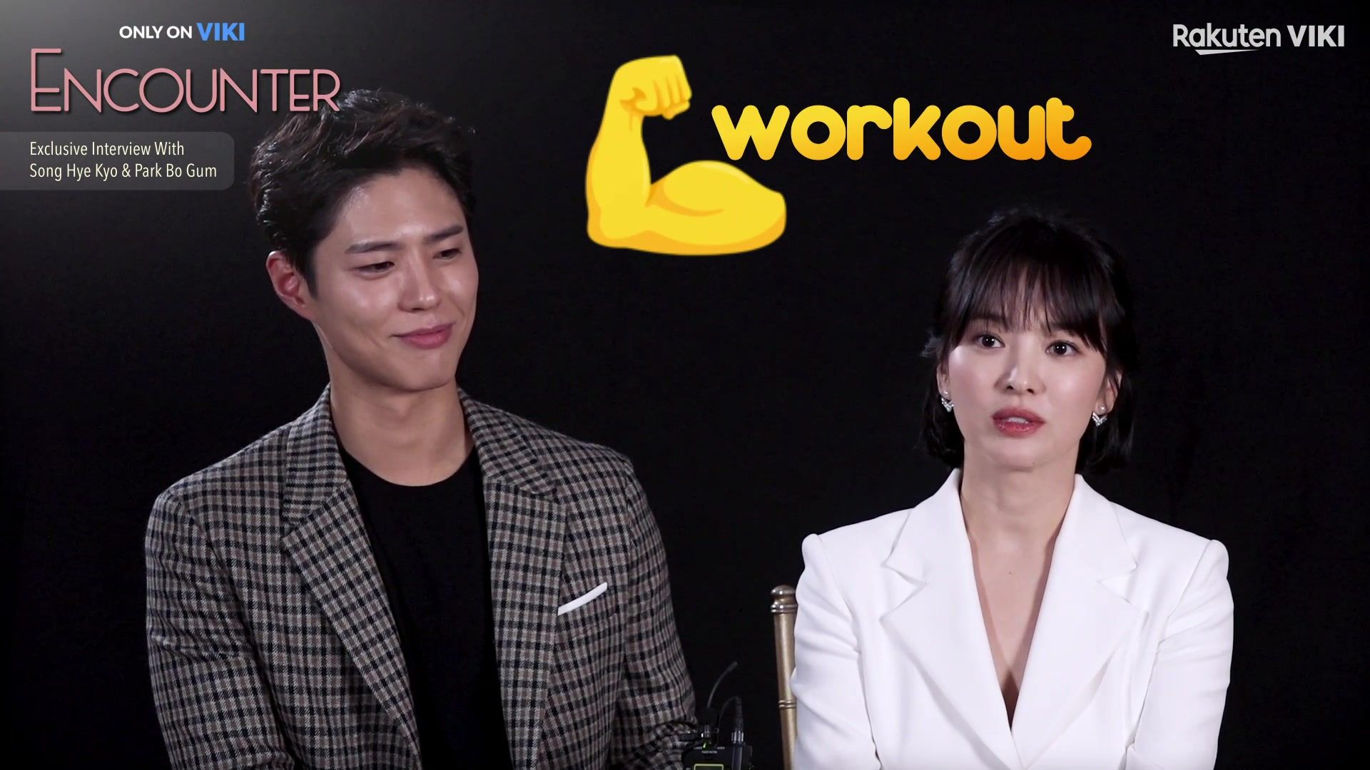 Exclusive Interview With Park Bo Gum and Song Hye Kyo: Encounter