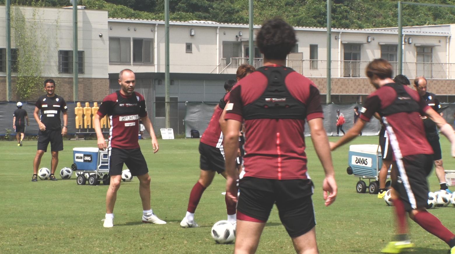 Iniesta TV Episode 13: Road to Kobe #11 First Team Practice 1
