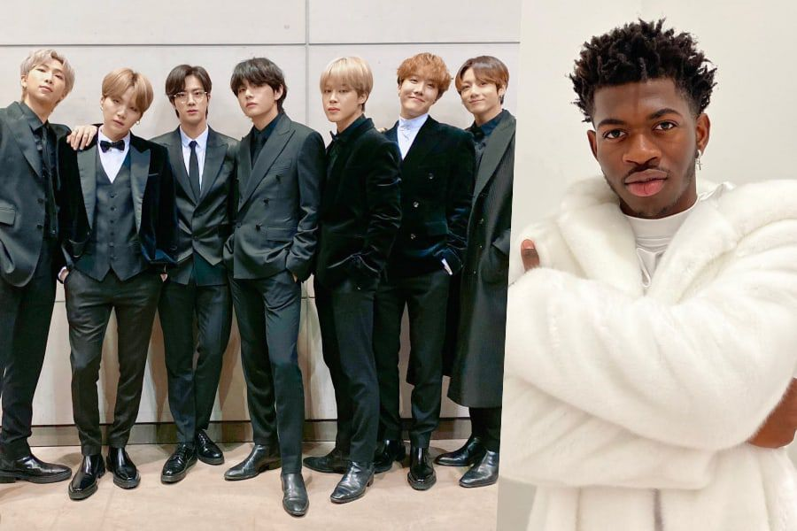 update bts confirmed to perform with lil nas x at 2020 grammy awards soompi lil nas x at 2020 grammy awards