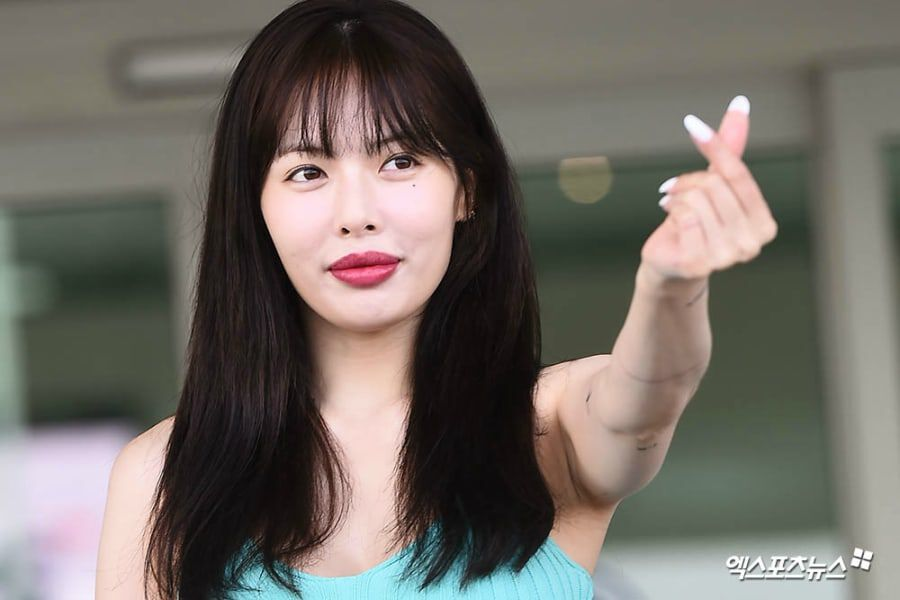HyunA Responds To Speculations Of Lip Augmentation