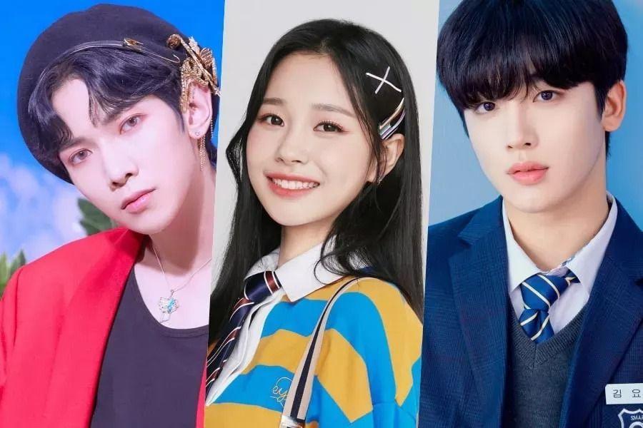 """""""The Show"""" confirma a Yeosang de ATEEZ, Kim Yo Han de WEi y Jihan de Weeekly como sus nuevos conductores"""