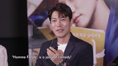 Showbiz Korea Episode 2176: Choi Guy-hwa(최귀화) & Ye Ji-won(예지원)'s Interview for the movie 'Homme Fatale(기방도령)'