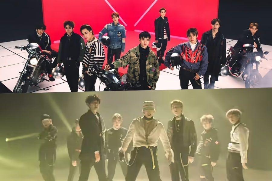 "EXO's ""Tempo"" Becomes Their 7th MV To Hit 200 Million Views"