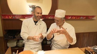 Iniesta TV: Discover Japan Episode 3: Discover Japan #2 Sushi Lesson (Second part)