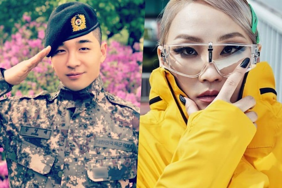 BIGBANG's Taeyang And CL Have Funny Exchange On Instagram Over His Filter Choices