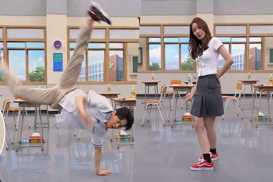 """Watch: Jo Jung Suk And YoonA Flaunt Their Dance Skills On """"Ask Us Anything"""""""