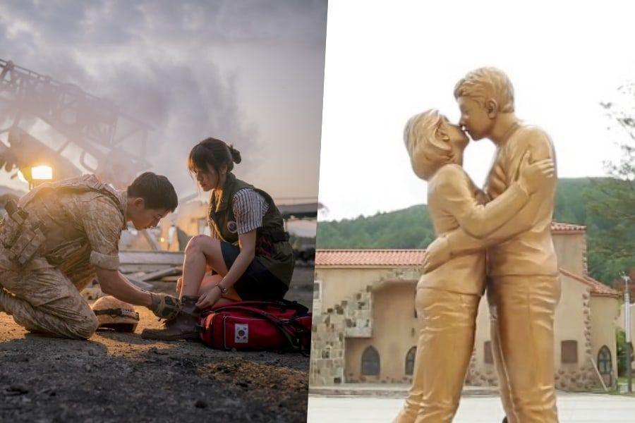 """La ciudad con atracción de """"Descendants Of The Sun"""" comparte planes después de las noticias del divorcio de Song Joong Ki y Song Hye Kyo"""