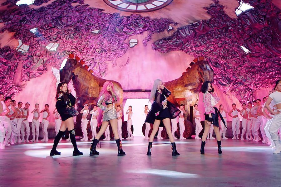 "BLACKPINK's ""How You Like That"" Becomes The Fastest K-Pop Girl Group MV To Hit 800 Million Views"