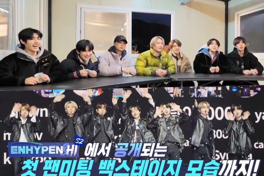 "Watch: ENHYPEN Returns With More Energy And Better Teamwork In Teaser For ""ENHYPEN&Hi"" Season 2"