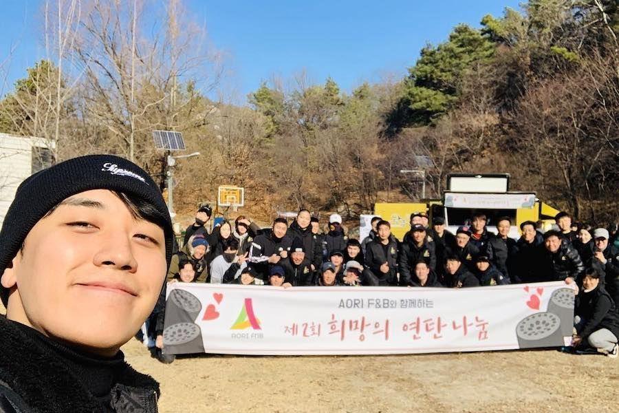Seungri de BIGBANG realiza una donación y se ofrece como voluntario por segundo año consecutivo durante su cumpleaños