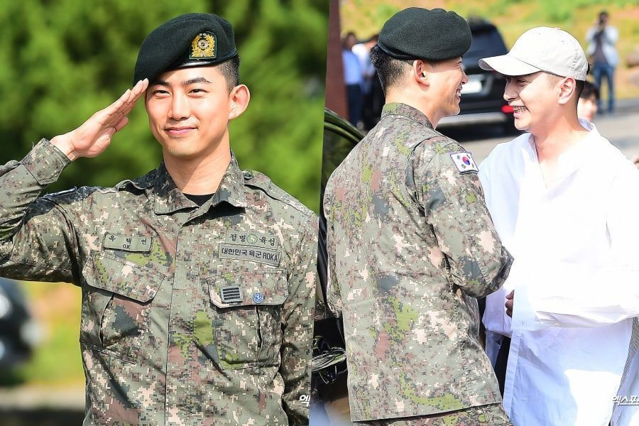 Taecyeon es dado de baja del ejército; Habla sobre extrañar a los miembros de 2PM + agradece a los fans por esperar