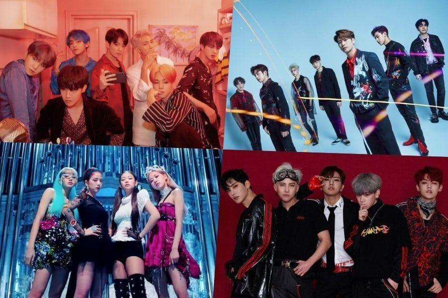 BTS, GOT7, BLACKPINK, A.C.E, y más obtienen puestos altos en el chart de Álbumes Mundiales de Billboard