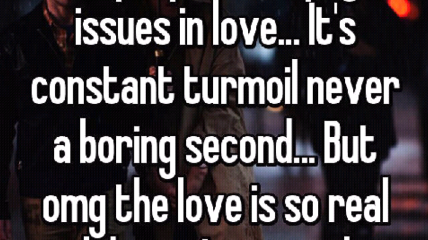 turmoil of love