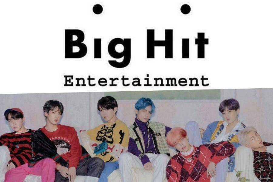 Big Hit Entertainment Releases Official Statement About Reports Claiming Legal Dispute With BTS