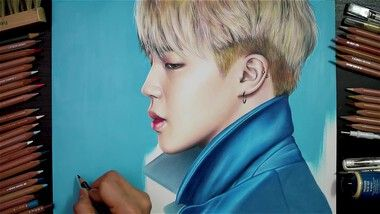 Drawing Hands エピソード 79: Speed Drawing BTS's Jimin