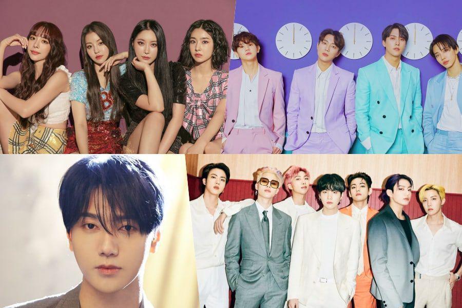Brave Girls, Highlight, Yesung de Super Junior y BTS lideran listas semanales de Gaon