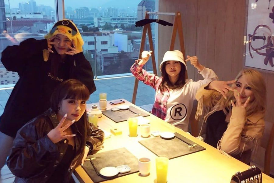 Watch : 2NE1 Members Reunite For 11th Anniversary Via Video Call