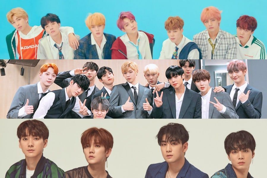 September Boy Group Brand Reputation Rankings Announced