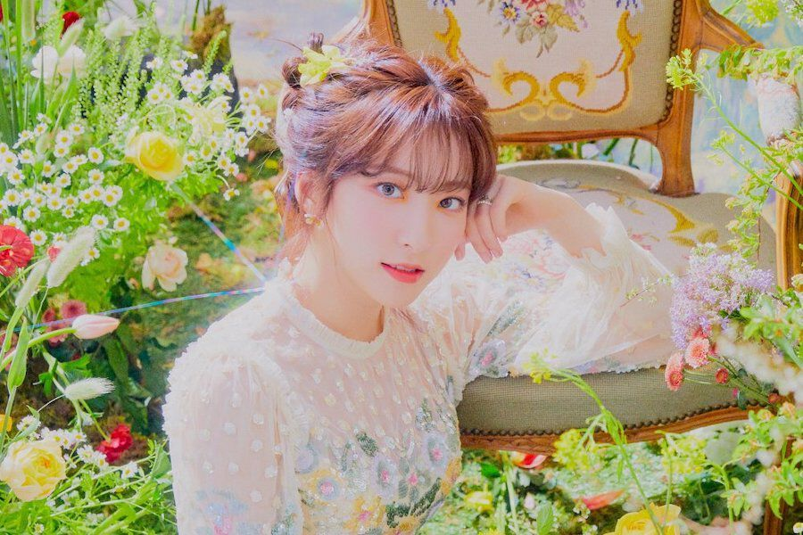 "Update: WJSN's Eunseo Stars In Concept Image For ""Neverland"" Comeback"