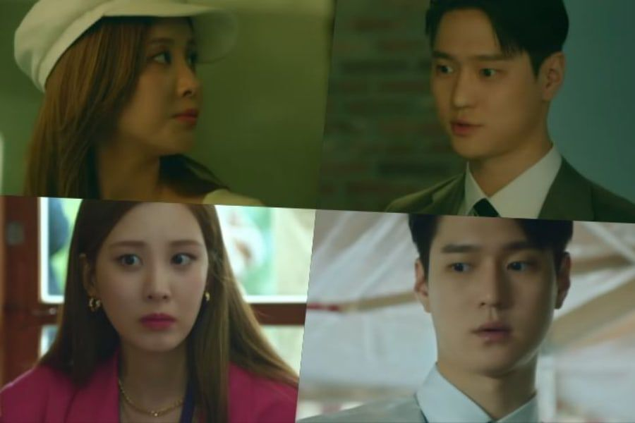Watch: Seohyun And Go Kyung Pyo Fatefully Meet Through Their Tangled Web Of Lies In Upcoming JTBC Drama