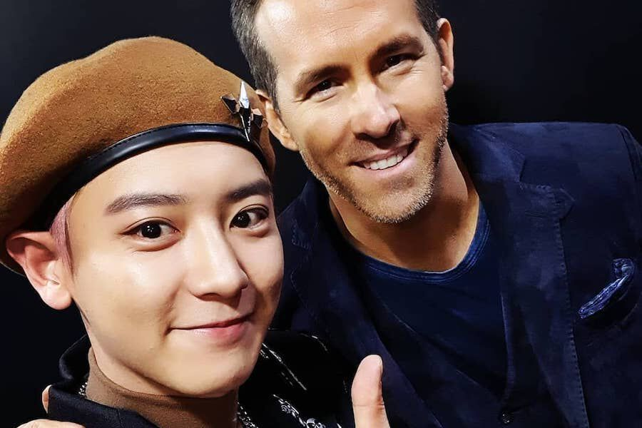 "Chanyeol's Fan Boy Dreams Come True As EXO Meets Ryan Reynolds And ""6 Underground"" Cast"